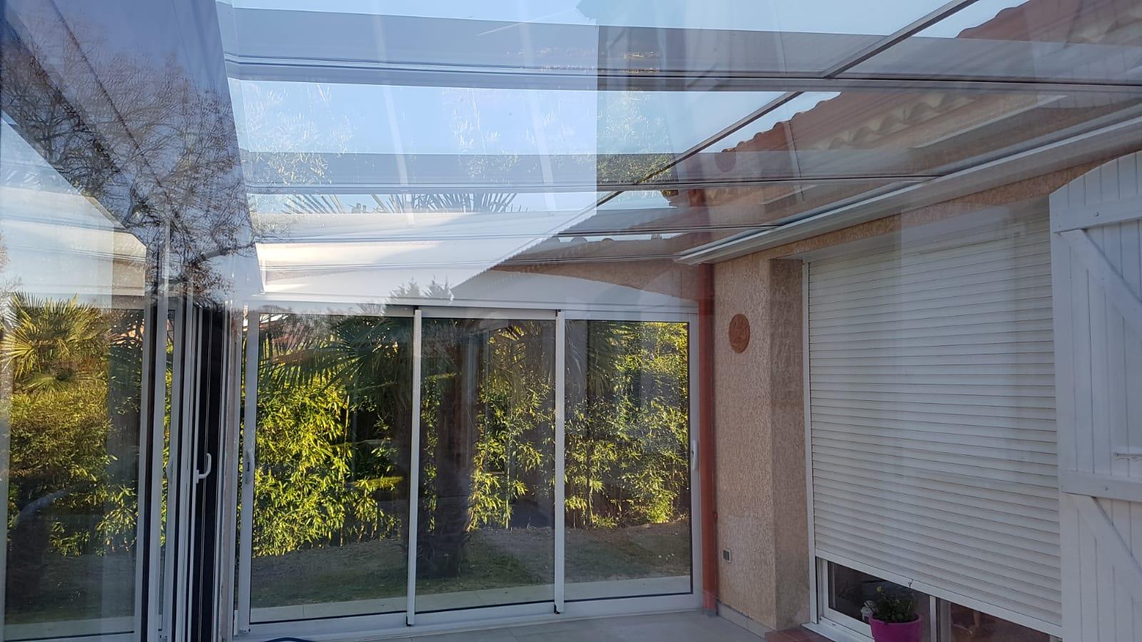 Instalación techo fijo de cristal cámara. Navarra