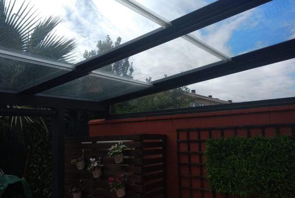 techo móvil de cristal zaragoza