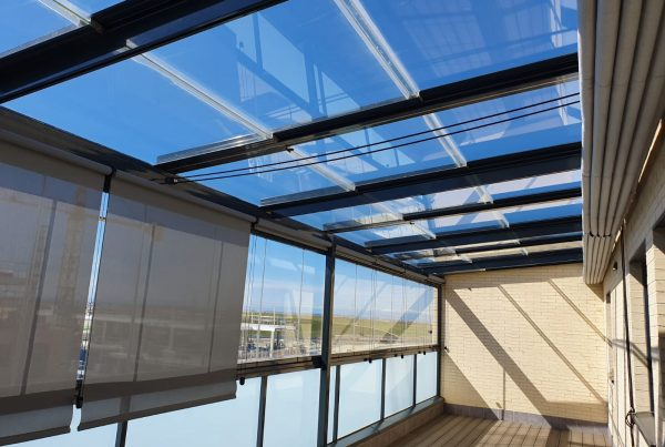techo móvil de cristal Madrid